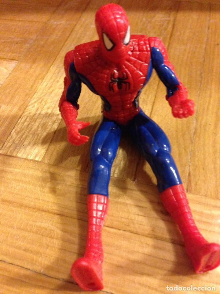 Figuras y Muñecos Marvel: FIGURA,MUÑECO DE SPIDERMAN.MARVEL.TOYBIZ.1998 - Foto 2 - 189703958