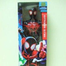 Figuras y Muñecos Marvel: FIGURA MILES MORALES 30 CM 12 PULGADAS SPIDERMAN SPIDER-MAN MARVEL HASBRO INTO THE SPIDER-VERSE. Lote 190482147