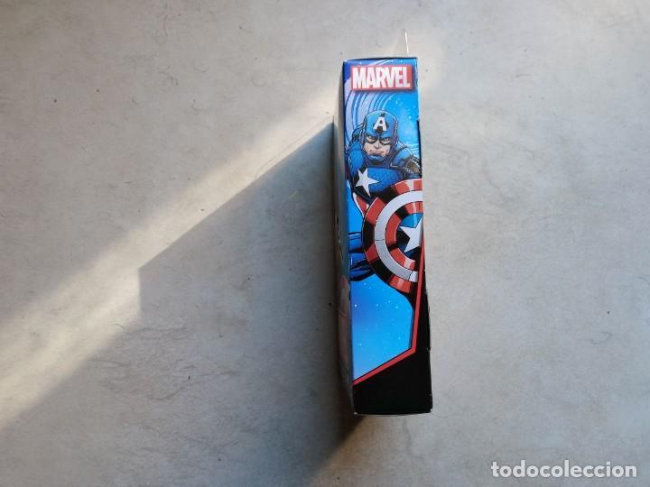 Figuras y Muñecos Marvel: Figura Capitán América Hasbro 2016. Captain America. En caja sin abrir - Foto 4 - 190827628