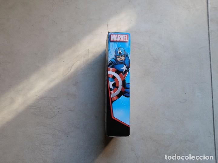 Figuras y Muñecos Marvel: Figura Capitán América Hasbro 2016. Captain America. En caja sin abrir - Foto 5 - 190827628