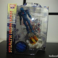Figuras y Muñecos Marvel: STEALTH IRON MAN COLLECTOR EDITION ACTION FIGURE MARVEL SELECT. Lote 191053845