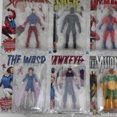 Figuras y Muñecos Marvel: PACK FIGURAS AVENGERS VINTAGE MARVEL LEGENDS. Lote 191169481