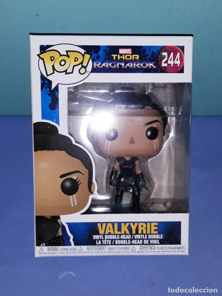 Funko Pop Thor Ragnarok Valkyrie Marvel Nº 244 Sold At Auction 192220576