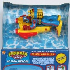 Figuras y Muñecos Marvel: SPIDERMAN ACUATICO. Lote 192914221