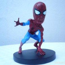 Figuras y Muñecos Marvel: FIGURA DE SPIDERMAN HEAD KNOCKER NUEVA EN SU CAJA. Lote 193279085