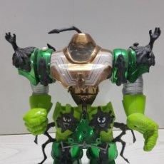 Figuras y Muñecos Marvel: 1997 - ARMADURA- ROBOT DE SPIDERMAN. VERDE.. Lote 193570018