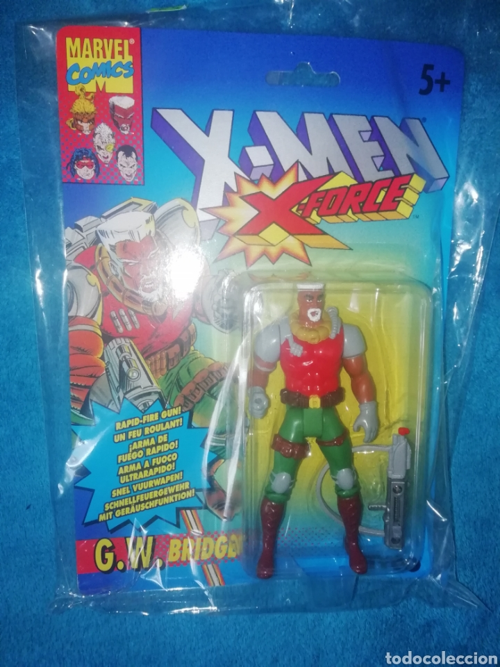 X-MEN G.W.BRIDGE TOY BIZ (Juguetes - Figuras de Acción - Marvel)