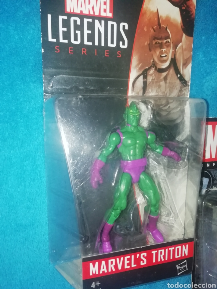 Figuras y Muñecos Marvel: MARVEL lote figuras Triton/Rage/Hyperion - Foto 2 - 194207366