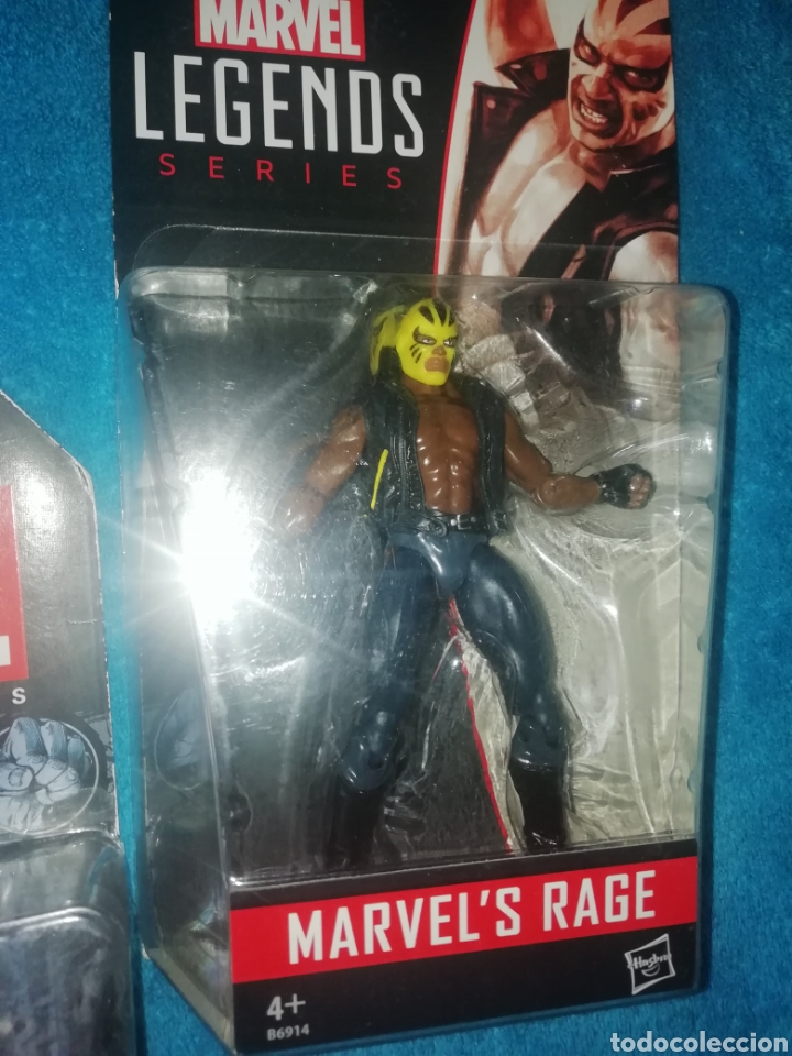 Figuras y Muñecos Marvel: MARVEL lote figuras Triton/Rage/Hyperion - Foto 4 - 194207366