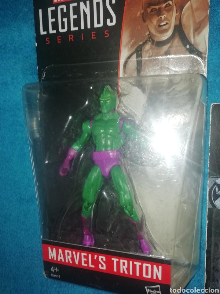 Figuras y Muñecos Marvel: MARVEL lote figuras Triton/Rage/Hyperion - Foto 5 - 194207366