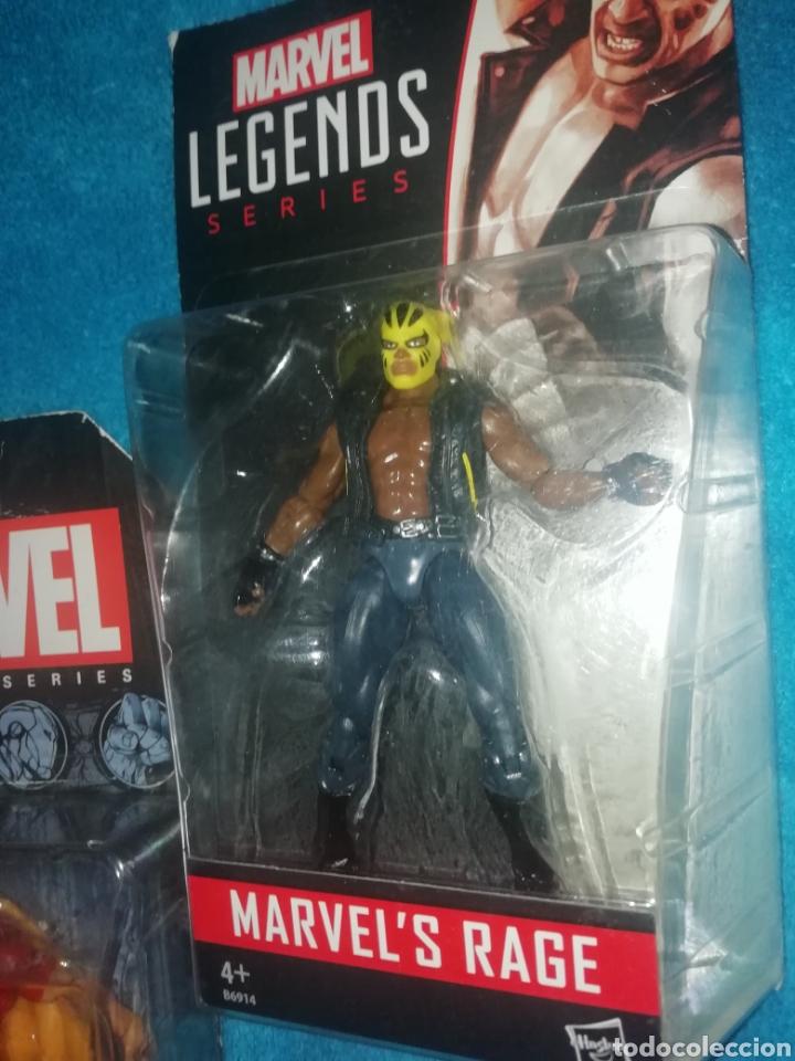 Figuras y Muñecos Marvel: MARVEL lote figuras Triton/Rage/Hyperion - Foto 7 - 194207366