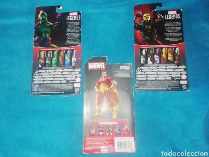 Figuras y Muñecos Marvel: MARVEL lote figuras Triton/Rage/Hyperion - Foto 8 - 194207366