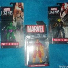 Figuras y Muñecos Marvel: MARVEL LOTE FIGURAS TRITON/RAGE/HYPERION. Lote 194207366