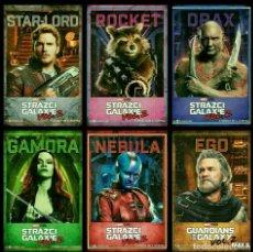 Figuras y Muñecos Marvel: LOTE 6 PÓSTERS LOS GUARDIANES DE LA GALAXIA 44X31 CM. NUEVO. Lote 194397480