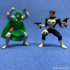 Figuras y Muñecos Marvel: LOTE 2 FIGURAS YOLANDA - EL CASTIGADOR - PUNISHER AÑO 1998 Y DOCTOR MUERTE 1998- MARVEL. Lote 194422342