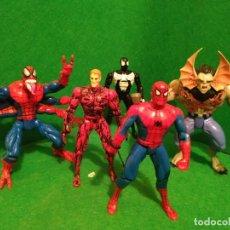 Figuras y Muñecos Marvel: LOTE SPIDERMAN SPIDER MAN TOY BIZ TOYBIZ VENOM MORBIUS. Lote 194646590