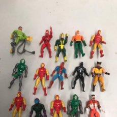 Figuras y Muñecos Marvel: LOTE DE FIGURAS ANTIGUAS MARVEL COMIC 1984. Lote 194896565
