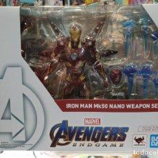 Figuras y Muñecos Marvel: IRON MAN MK-50 NANO WEAPON SET 2 SH FIGUARTS VENGADORES ENDGAME MARVEL TAMASHII NATIONS. Lote 194925890