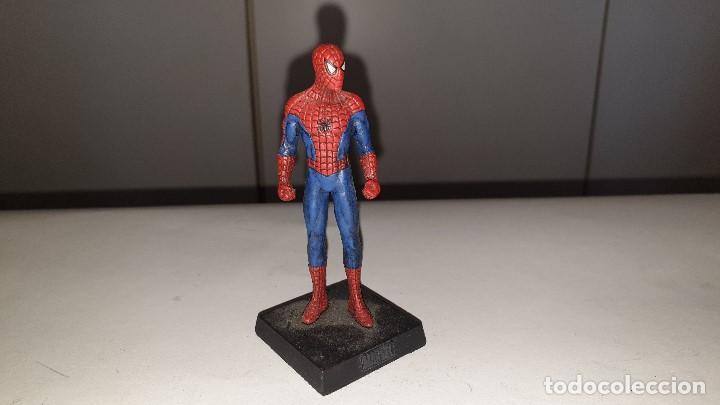 MARVEL SUPER HEROES FIGURA PLOMO SPIDERMAN ALTAYA PERSONAJESMETAL (Juguetes - Figuras de Acción - Marvel)