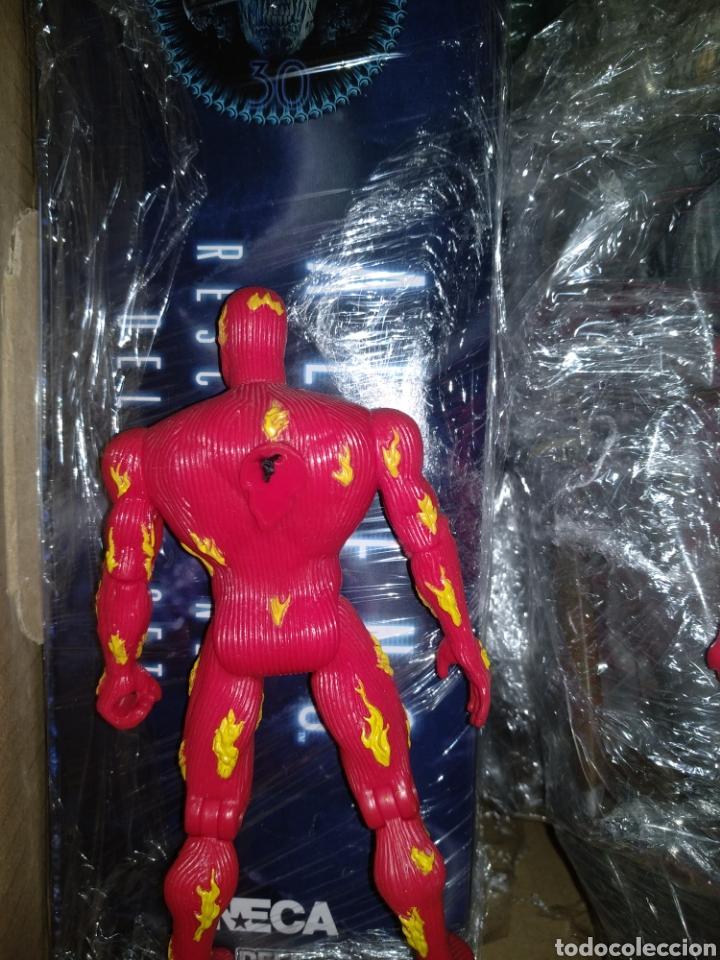Figuras y Muñecos Marvel: Antorcha humana toy biz años 90 - Foto 2 - 194977598