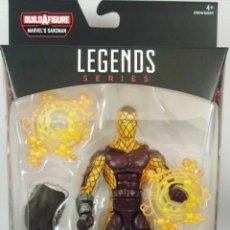 Figuras y Muñecos Marvel: MARVEL LEGENDS SPIDERMAN SANDMAN WAVE FIGURA SHOCKER PRECINTADA NUEVA DESCATALOGADA. Lote 195340162