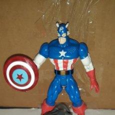 Figuras y Muñecos Marvel: FIGURA MARVEL. CAPITAN AMERICA (ELEKTRO SPARK). COMPLETA. SPIDERMAN ANIMATED. TOYBIZ. Lote 195380611