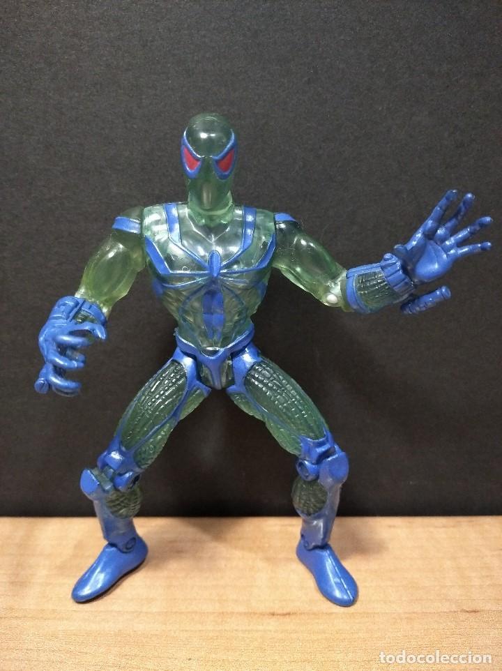 FIGURA MARVEL SPIDERMAN-13CM APROX.-TOY BIZ-1996-VER FOTOS-B1-V1 (Juguetes - Figuras de Acción - Marvel)