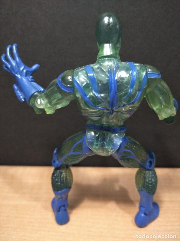 Figuras y Muñecos Marvel: FIGURA MARVEL SPIDERMAN-13cm aprox.-TOY BIZ-1996-VER FOTOS-B1-V1 - Foto 4 - 196346301