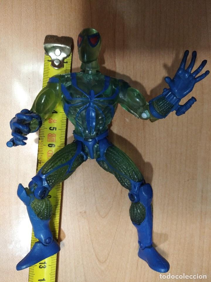 Figuras y Muñecos Marvel: FIGURA MARVEL SPIDERMAN-13cm aprox.-TOY BIZ-1996-VER FOTOS-B1-V1 - Foto 11 - 196346301