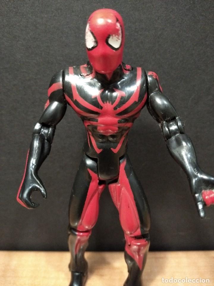Figuras y Muñecos Marvel: FIGURA MARVEL SPIDERMAN-13cm aprox.-TOY BIZ-1996-VER FOTOS-B1-V1 - Foto 2 - 196347405