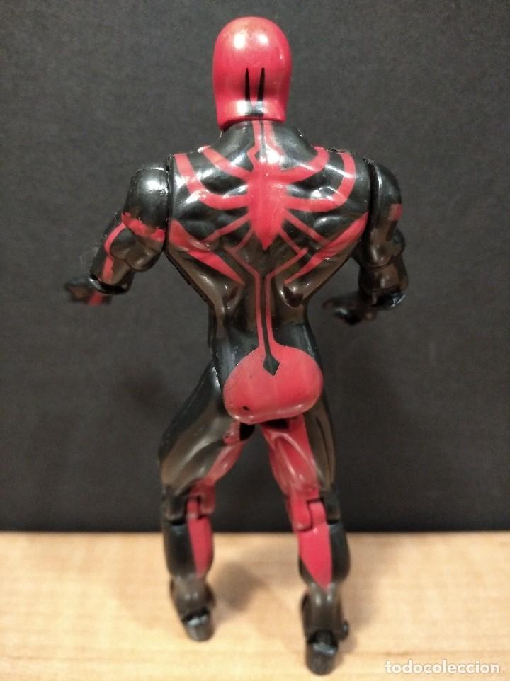 Figuras y Muñecos Marvel: FIGURA MARVEL SPIDERMAN-13cm aprox.-TOY BIZ-1996-VER FOTOS-B1-V1 - Foto 4 - 196347405