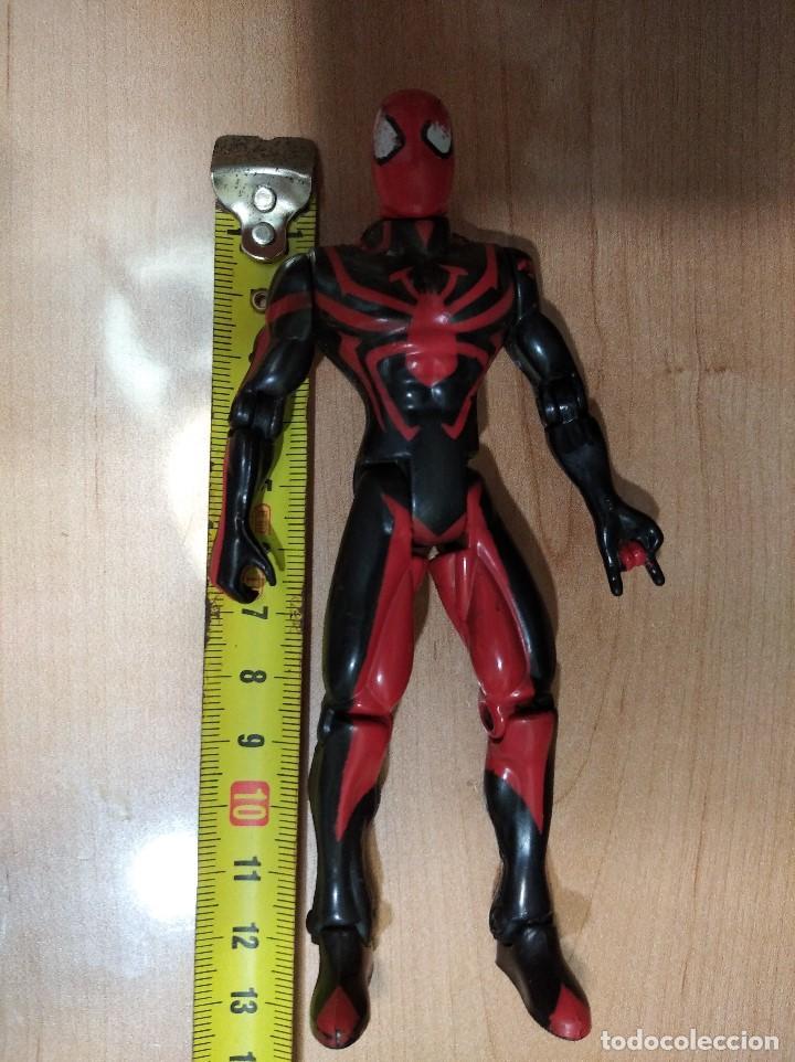 Figuras y Muñecos Marvel: FIGURA MARVEL SPIDERMAN-13cm aprox.-TOY BIZ-1996-VER FOTOS-B1-V1 - Foto 7 - 196347405