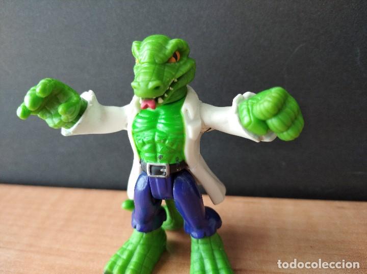 Figuras y Muñecos Marvel: FIGURA MARVEL HOMBRE LAGARTO-7cm aprox.-HASBRO-2011-VER FOTOS-B1-V1 - Foto 3 - 196348895