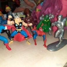 Figuras y Muñecos Marvel: COLECCIÓN DE 8 FIGURAS DE ACCIÓN CLÁSICAS MARVEL.SPIDERMAN,CAPITÁN AMÉRICA,VENGADORES........ Lote 197866886