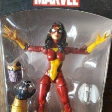 Figure e Bambolotti Marvel: SPIDER-WOMAN- MARVEL LEGENDS - INFINITE SERIES THANOS - NUEVO EN CAJA - SPIDERWOMAN. Lote 198548581