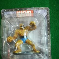 Figuras y Muñecos Marvel: FIGURA DE PLOMO , MARVEL , SUPER HEROES , LA COSA , CON FASCICULO Nº4. Lote 198884387