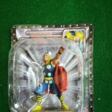Figuras y Muñecos Marvel: FIGURA DE PLOMO , MARVEL , SUPER HEROES , THOR , CON FASCICULO Nº3. Lote 198885561