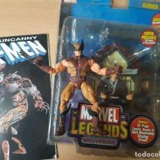 Figuras y Muñecos Marvel: MARVEL LEGENDS,LOBEZNO. Lote 202788220