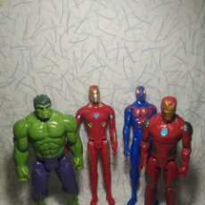 Figure e Bambolotti Marvel: 4 FIGURAS DE MARVEL. Lote 202869952