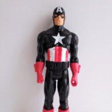 Figuras y Muñecos Marvel: FIGURA TITÁN DEL CAPITÁN AMÉRICA CON TRAJE AZUL OSCURO REALIZADO POR HASBRO EN EL AÑO 2013. Lote 203330833