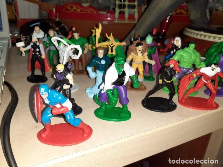 Figuras y Muñecos Marvel: Colección de 24 Héroes y Villanos Marvel.Spiderman,Capitán América,Hulk,Thor...etc. - Foto 2 - 203860590
