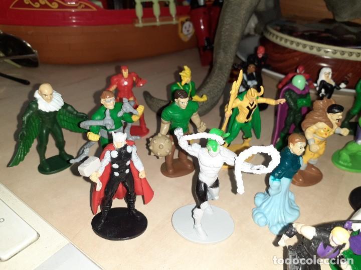 Figuras y Muñecos Marvel: Colección de 24 Héroes y Villanos Marvel.Spiderman,Capitán América,Hulk,Thor...etc. - Foto 3 - 203860590