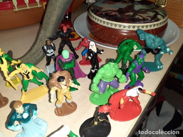 Figuras y Muñecos Marvel: Colección de 24 Héroes y Villanos Marvel.Spiderman,Capitán América,Hulk,Thor...etc. - Foto 5 - 203860590