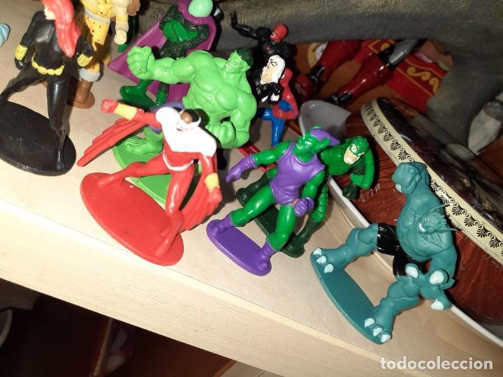 Figuras y Muñecos Marvel: Colección de 24 Héroes y Villanos Marvel.Spiderman,Capitán América,Hulk,Thor...etc. - Foto 6 - 203860590