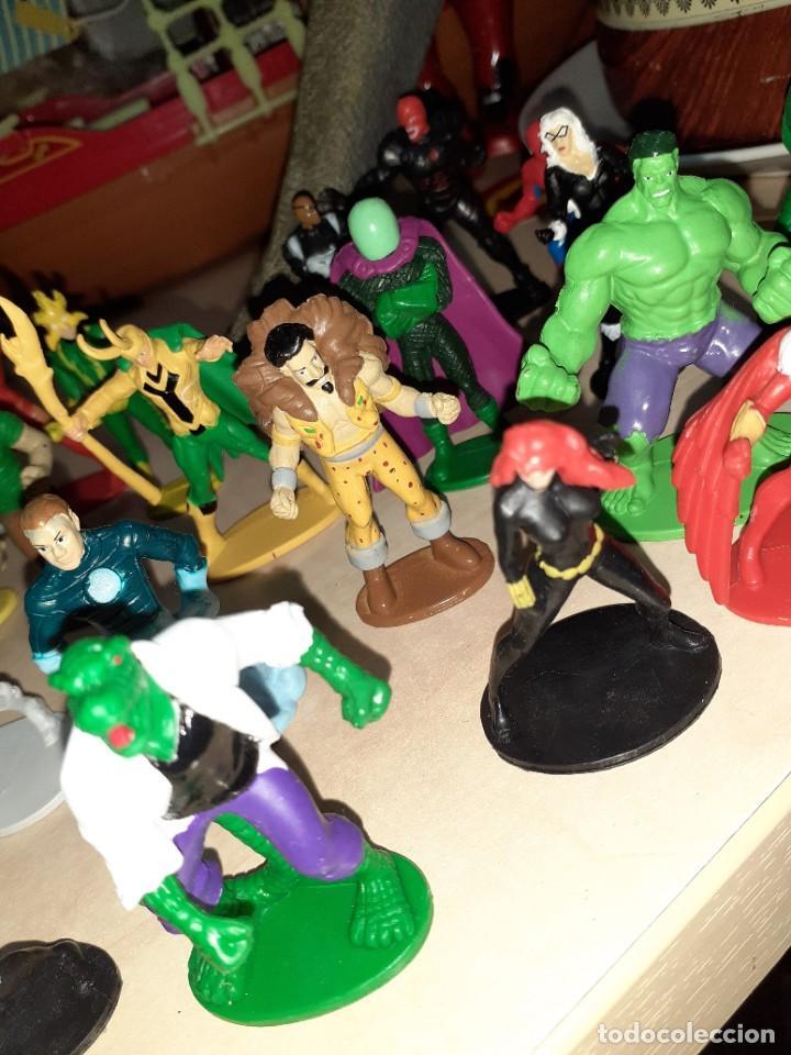 Figuras y Muñecos Marvel: Colección de 24 Héroes y Villanos Marvel.Spiderman,Capitán América,Hulk,Thor...etc. - Foto 7 - 203860590