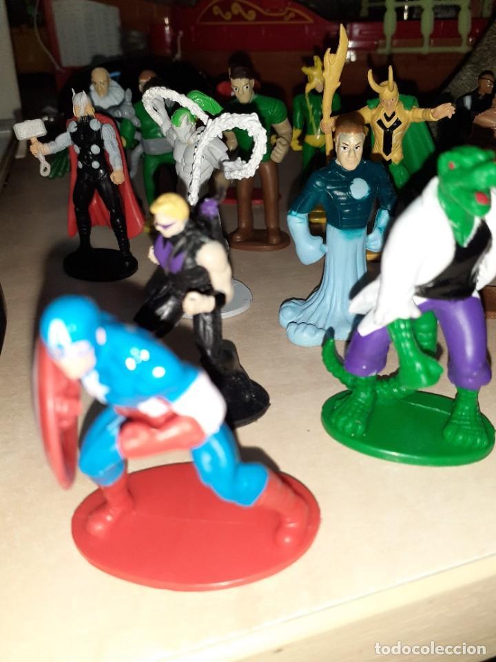 Figuras y Muñecos Marvel: Colección de 24 Héroes y Villanos Marvel.Spiderman,Capitán América,Hulk,Thor...etc. - Foto 8 - 203860590