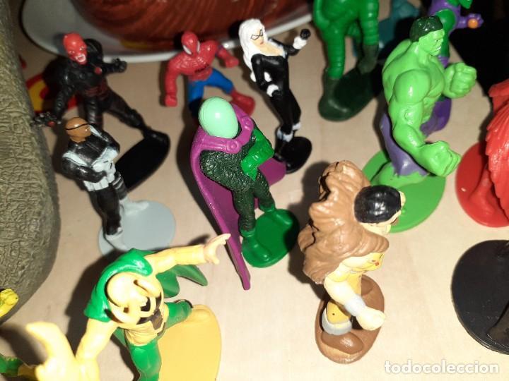 Figuras y Muñecos Marvel: Colección de 24 Héroes y Villanos Marvel.Spiderman,Capitán América,Hulk,Thor...etc. - Foto 9 - 203860590