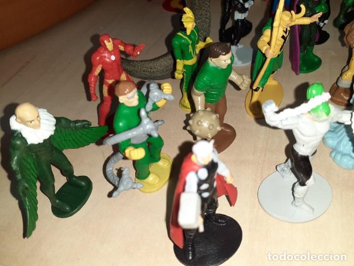 Figuras y Muñecos Marvel: Colección de 24 Héroes y Villanos Marvel.Spiderman,Capitán América,Hulk,Thor...etc. - Foto 10 - 203860590