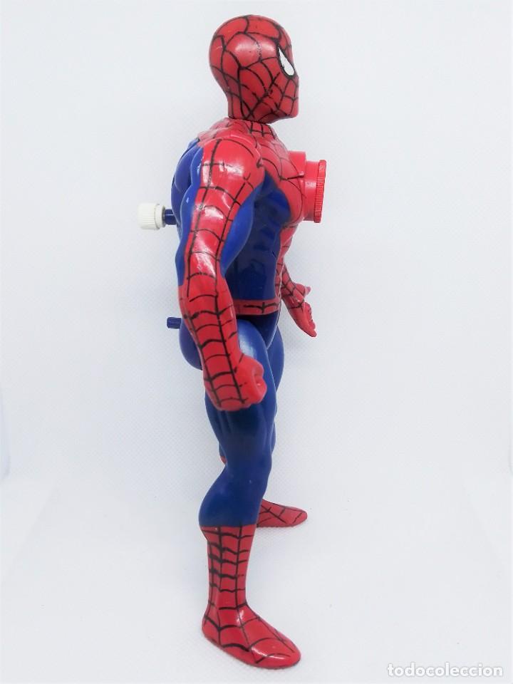 Figuras y Muñecos Marvel: Figura de Spider-Man Projectors Spiderman Proyector © 1994 MARVEL TOY BIZ. INC. CHINA V-2 - Foto 4 - 203970751