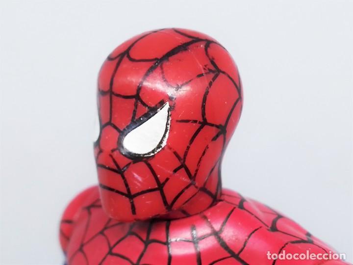 Figuras y Muñecos Marvel: Figura de Spider-Man Projectors Spiderman Proyector © 1994 MARVEL TOY BIZ. INC. CHINA V-2 - Foto 5 - 203970751